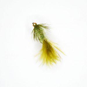 Beaded Flash Leech Olive