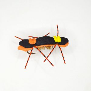 Chernoble Ant Black Orange Dry Fly - Copy - Copy - Copy